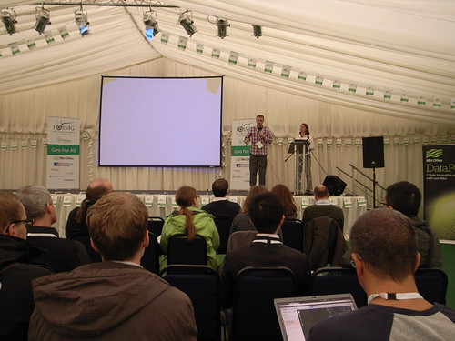 FOSS4G - Challengers presenting - Met Of by aburt, on Flickr