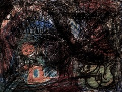 Condor Crag (giveawayboy) Tags: abstract art sketch drawing crayon fch giveawayboy billrogers mmfsb