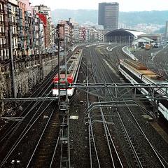 LaLoKoMotora (Explore 2013-10-18) (ines valor) Tags: tren bilbao estacin abando