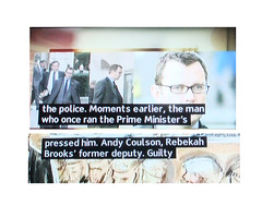 2013_10_300045 (t2) - the Prime Minister's pressed him (Gwydion M. Williams) Tags: uk greatbritain england funny britain humor humour murdoch subtitles captions subtitle misprint rupertmurdoch newsoftheworld newsinternational jamesmurdoch misprints phonehacking rebekahbrooks phonehackingscandal levesoninquiry lordjusticeleveson