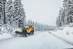 Highway 58 #2 (Richard_Hicks) Tags: snow oregon driving unitedstates crescent willamettepass 2013 highway58 canon6d canonef40mmf28stmlens