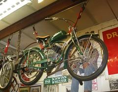 1948 Schwinn  Whizzer (Bob the Real Deal) Tags: 1948 museum vintage antique fresno schwinn whizzer canonsd850 simonianfarms 1948schwinnwhizzer