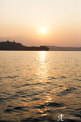 13111610 (noobographer) Tags: sunset sea sun reflection texture wet water island hongkong gold golden shiny waves view calm taimeituk plovercove