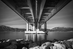 - ,  / RioAntirrio bridge , Patra - kk231 (KouKon) Tags: longexposure bridge sea sky blackandwhite bw white seascape black reflection nature water rio clouds port reflections landscape photography blackwhite pentax hellas engineering greece waterline patras patra antirio peloponnese nafpaktos weldingglass cablestayedbridge  achaea gulfofcorinth rioantirio nd10 silkywaters  aetoloakarnania aitoloakarnania   aetoliaacarnania charilaostrikoupisbridge  bigstopper pentaxkr rioantirriobridge