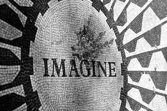 A tribute (Edzone) Tags: nyc anniversary centralpark imagine tribute johnlennon dakota strawberryfields december81980 33yearsago