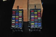 Solving electronics trouble: new fuse boxes (Pim Stouten) Tags: restore jag restoration jaguar sovereign xj restauratie xj6 xj40