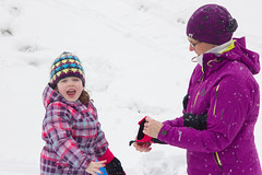 Sled Riding 2013-11 (TheDarrenSharp) Tags: winter evelyn 3yearsold sledriding