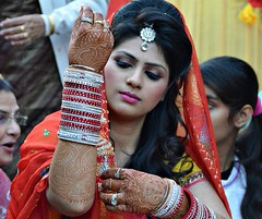 The bangle ceremony (dw*c) Tags: wedding india nikon brides weddings punjab phagwara vbride picmonkey