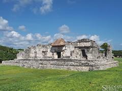 House of the Halach Uinik (Seldom Scene Photography) Tags: méxico geotagged mexico ruins maya tulum olympus mayan gps geotag omd em1 tulúm olympusm1240mmf28