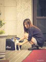 _JAY0054 ( Jaylin) Tags: city portrait love beautiful cat studio photo cafe model women taiwan olympus lonely taipei puma mirco  omd pepole     m43     mzd  jelin em5  leica25mm