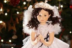 "Elizabeth 22"" OOAK rag doll (RGAdolls) Tags: tricot miniature doll handmade ooak waldorf poland textile artdoll collectors ragdoll collectibles softdoll puppen sof waldorfdoll humanfigure clothdolls childfriendly pocieszanka"