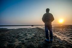 (Arry_B) Tags: sunset people beach river bank canonef1740mmf4lusm brahmaputra tezpur