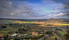 Val d'Orcia (Fil.ippo (AWAY)) Tags: italy panorama colors landscape nikon italia tuscany montepulciano toscana valdorcia hdr filippo paesaggio d7000 filippobianchi