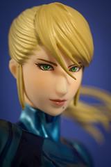 DSC_6139 (Quantum Stalker) Tags: max scale statue factory nintendo suit blonde 18 zero aran pvc blaster metroid samus