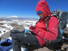 On the Principal/CAM summit (6800m) of Pissis