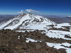 Pissis East/Ejercito Argentino summit from UPAME (6800m) on Pissis