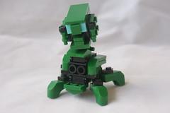 CR-3393r (milt69466) Tags: mecha mech moc microscale mechaton mfz mf0 mobileframezero brickblent