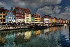 Nyhavn Reflections (hapulcu (offline until November)) Tags: copenhagen denmark nyhavn dk danmark kbenhavn oresund danemark copenhagu