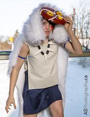 Princess Mononoke by Bamzy Cosplay at Con-G 6: Season Finale (andreas_schneider) Tags: show 6 canada anime costume comic cosplay guelph convention cosplayer comiccon con 2014 cong