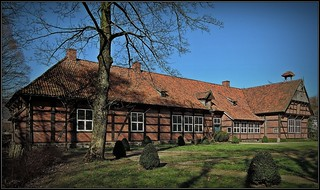 Cloppenburg - rural manor house - open air museum - lower saxony