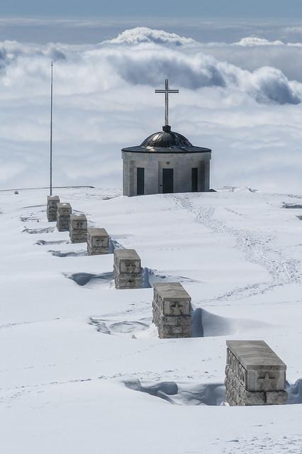 Monte Grappa, Sacrario di Cima Grappa, Via Eroica