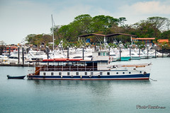 Islamorada transit tours of the canal (Photo Rusch) Tags: city canal gangster collection transit panama islamorada tours alcapone watertaxi tourboats pedasi ferryboats
