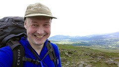 """Selfie on the summit of Aran Fawddwy (907m) • <a style=""""font-size:0.8em;"""" href=""""http://www.flickr.com/photos/41849531@N04/19157996088/"""" target=""""_blank"""">View on Flickr</a>"""