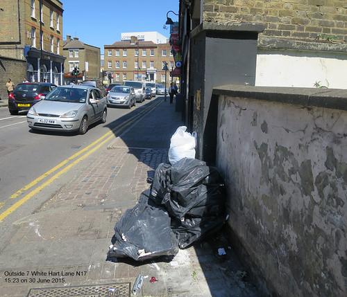 Outside 7 White Hart Lane - 30 June 2015