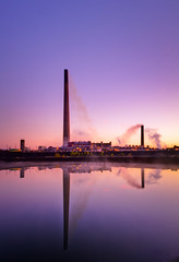 Vale Nickel Plant in Sudbury Canada (http://afgallery.pixels.com/) Tags: sunset chimney plant industry toxic water industrial factory smoke air stack gas mining clean pollution maintenance production environment sulphur chemical treatment emmission afphoto afbest