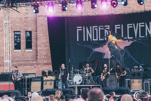 Finger Eleven - July 31, 2015 - Hard Rock Hotel & Casino Sioux City