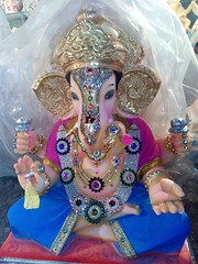 IMG-20160822-WA0029 (bhagwathi hariharan) Tags: ganpati ganpathi lordganesha god nallasopara nalasopara pooja idols