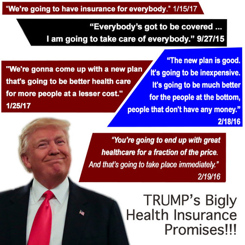 Trump Health Care Promises