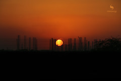 Industrial Sunset (hisalman) Tags: industrial sunset evening canon 70d sun industry landscape