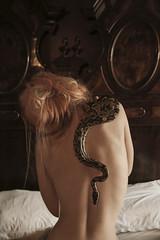 Anna-Valeria (Thomas Balducci Photography) Tags: nudo schiena serpente naked conceptual