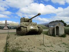 Sherman Tank, Musée du Débarquement: Utah Beach 2016