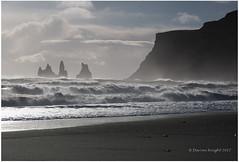 The Sea Stacks of Vik (TheAstroRV) Tags: sea stacks vik iceland basalt