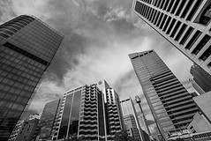 DSC00594 (Damir Govorcin Photography) Tags: architecture buildings wide angle sky skyline centrepoint tower sydney blackwhite monochrome natural light damir govorcin photography perspective creative composition sony a7rii zeiss 1635mm