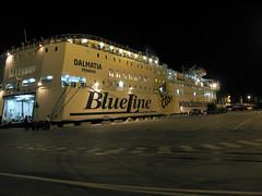 Ancona - night ferries across the Adriatic (Carneddau) Tags: ancona anconadocks blueline dalmatia italy khhol2011 marche