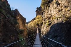 """""""Los Cahorros"""" Bridge (pacogranada) Tags: loscahorros puente bridge puentecolgante granada españa spain andalucia andalusia"""