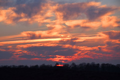 cloudy sunset, [in explore] (vibeke2620) Tags: clouds skyer solnedgang sunset countryside pålandet nikond3300 outside nature natur cloudformation sunshine evening aften march marts2017 forår spring inexplore
