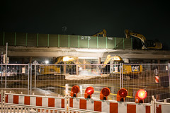Brückenabriss Alexanderstraße