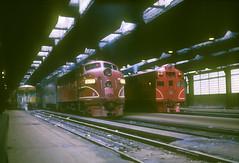 Rock Island F7 677 (Chuck Zeiler) Tags: rock island ri crip f7 677 ab6 751 railroad emd locomotive chicago train chz