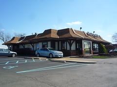McDonald's, Harrison, OH (01) (Explored 3/25/2017!) (Ryan busman_49) Tags: mcdonalds harrison cincinnati ohio mansard vintage restaurant retail