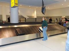 Getting Our Luggage at JFK (JuneNY) Tags: buffalotojfk new york airports buffalonewyork delta buffalointernationalairport erie county airport