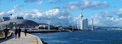 Parque das Nações (rgrant_97) Tags: portugal lisboa parque nações rio tejo ponte vascodagama sky céu clouds núvens panorama