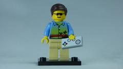 Brick Yourself Bespoke Custom Lego Figure Cool Gamer