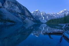 Moraine ... Blue Hour (Ken Krach Photography) Tags: banffnationalpark lakemoraine