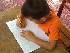 A boy learns to write in a pre-primary classroom in Lao PDR (GlobalPartnership for Education) Tags: school boy education child classroom primary gpe earlychildhoodeducation laopeoplesdemocraticrepublic primaryeducation laopdr basiceducation globalpartnershipforeducation