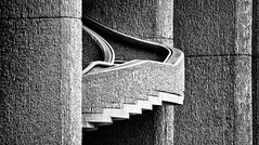 Detail--State Office Building (PAJ880) Tags: new bw building boston architecture ma tamron hurley brutalism 18270
