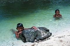 Cabilao boys #1 (+akane+) Tags: sea people film boys water kids analog asia kodak philippines 135 cabilao